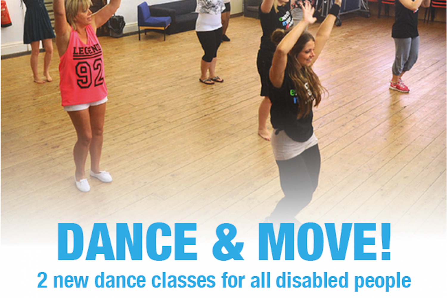 DSC Dance & Move! Inclusive Dance sessions for all disabled people