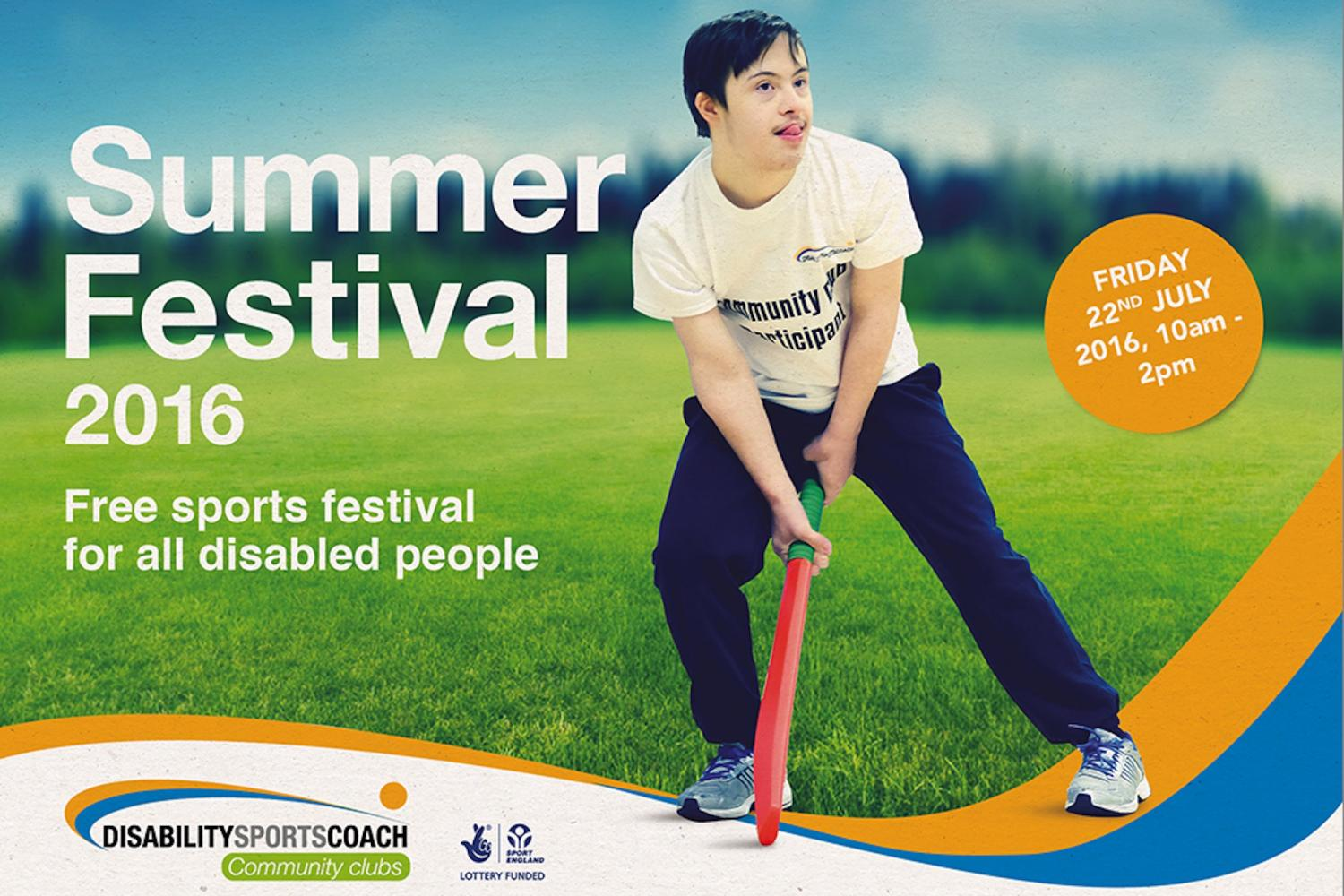 DSC Summer Festival 2016 - Free Sports Festival for all disabled people