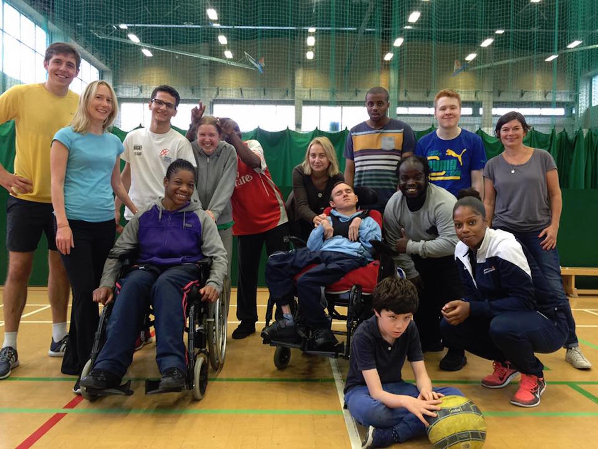 Disability Sports Coach Ian Volunteer