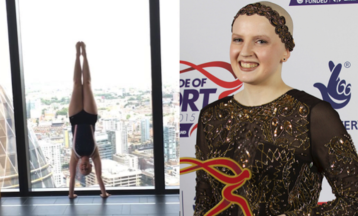 Natasha Coates - #HandstandDay Disability Sports Coach British Gymnastics