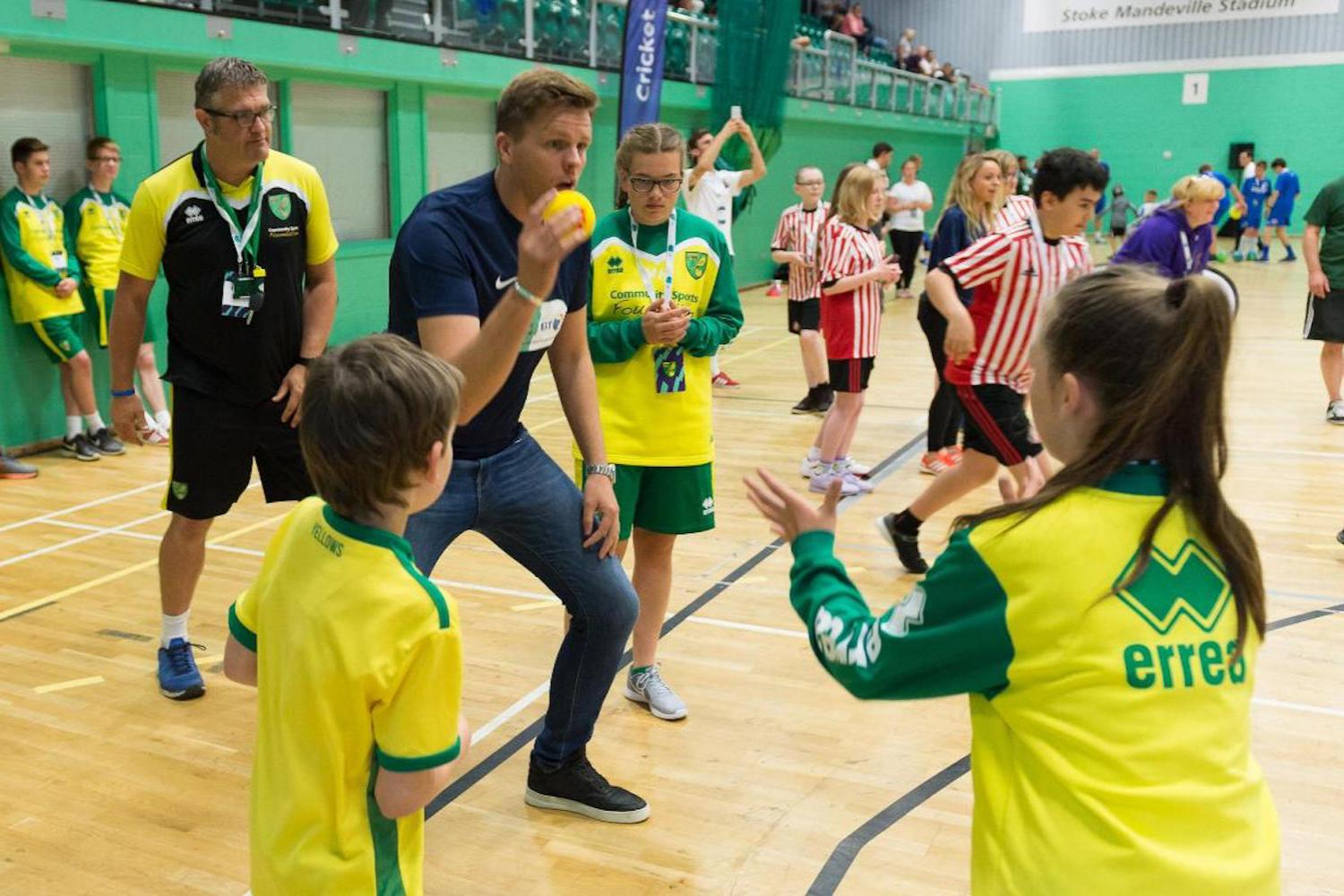 Disability Sports Coach - Premier League - Disability Festival
