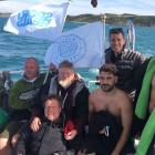 DSC fundraisers conquer the English Channel and raise over £10k
