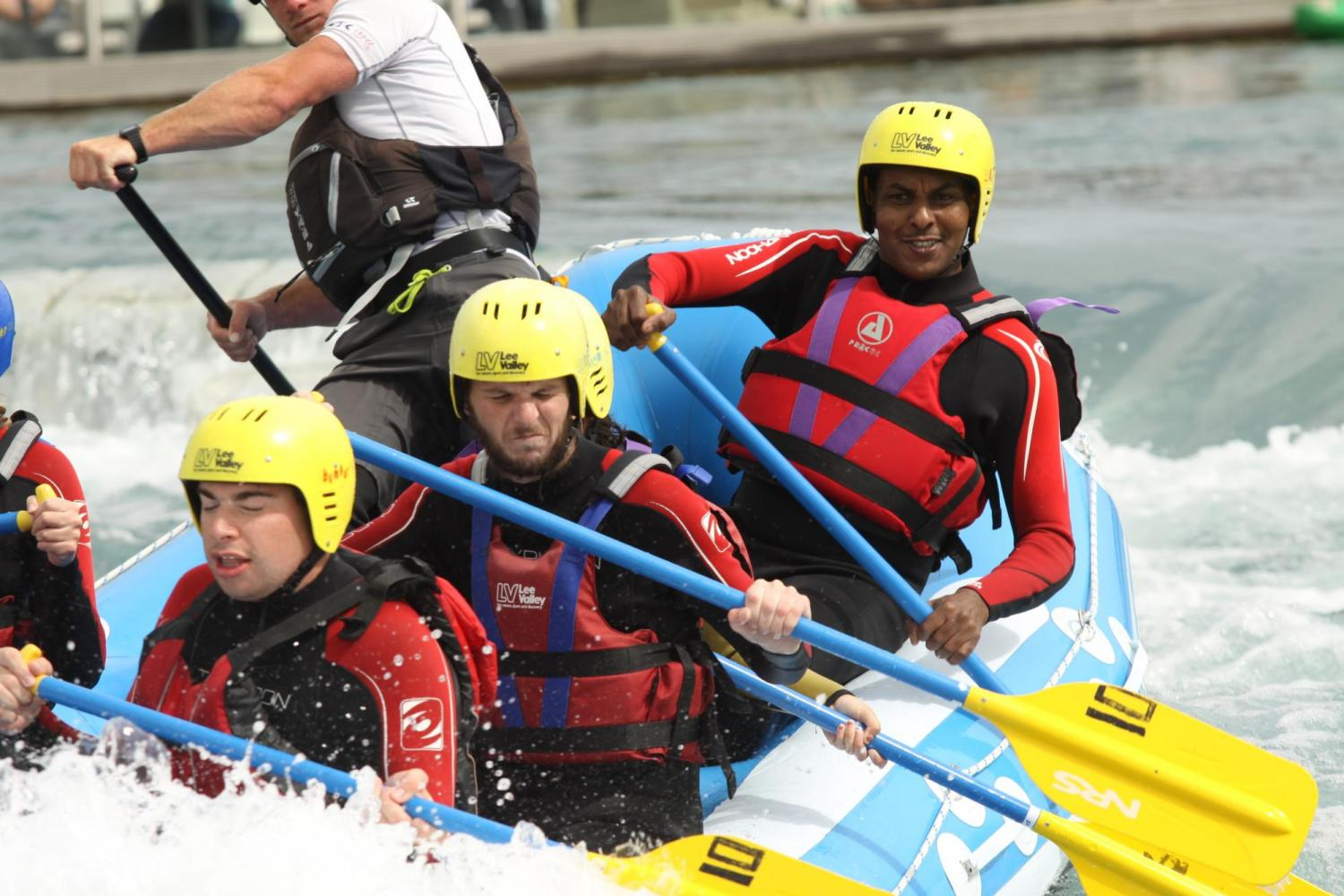 DSC Community Club Outing - Lee Valley White Water Rafting