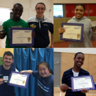 Celebrating 2015 with Club Award Winners
