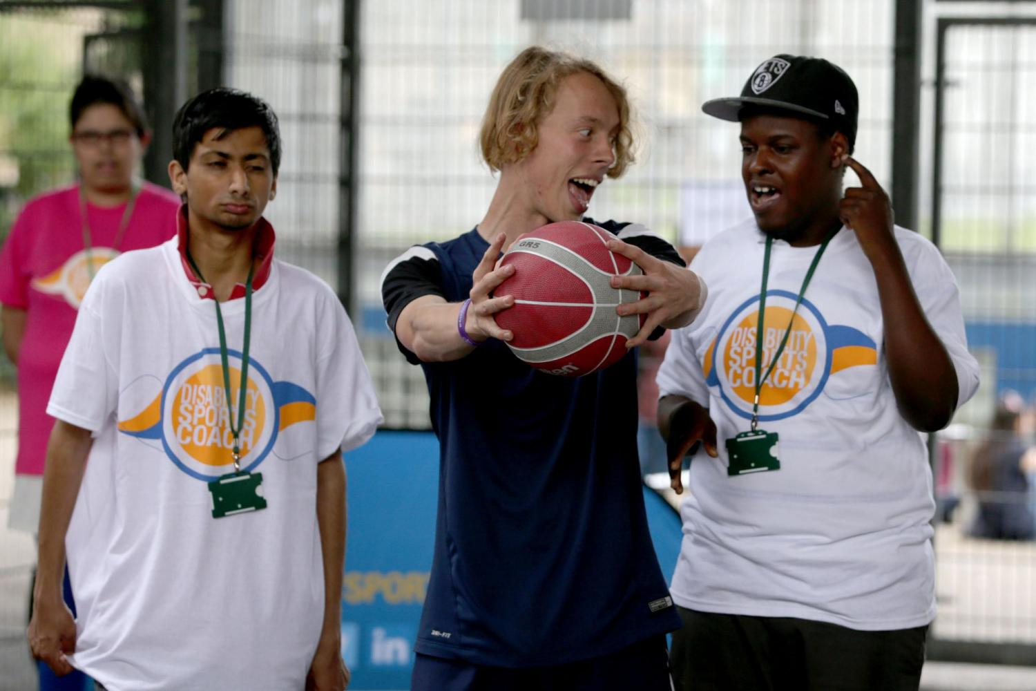 Elearning: Disability Awareness in Sport - disability sports coach