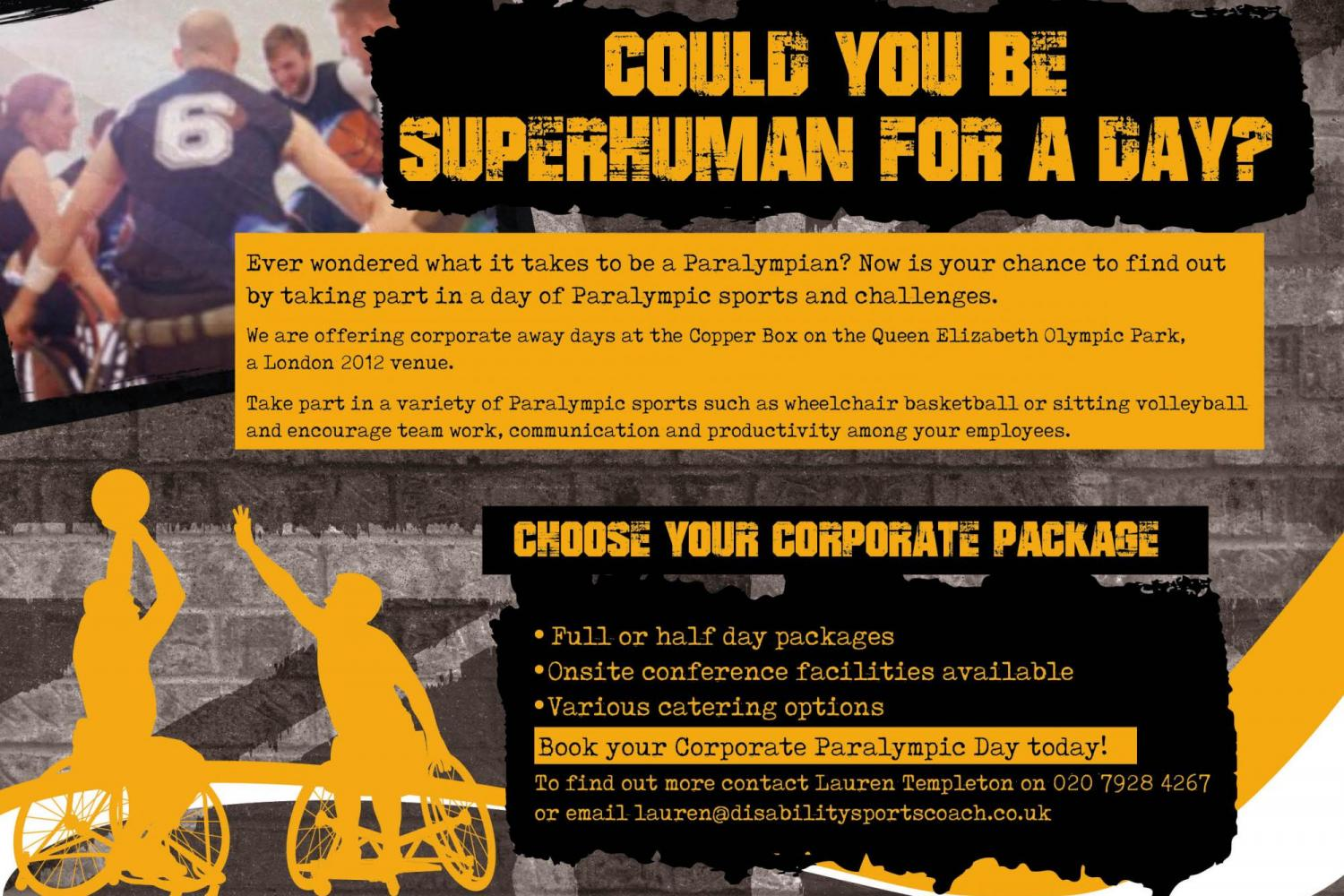 DSC Corporate Away Day - Can you be Superhuman for a day?