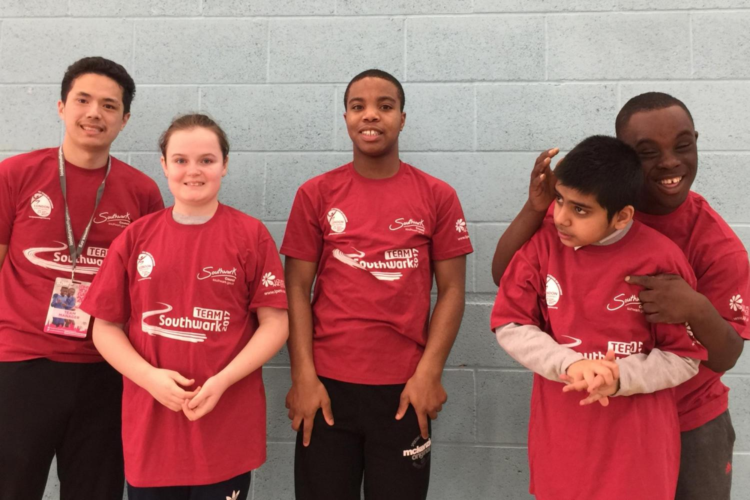 Team Southwark from Disability Sports Coach's Community Club Southwark