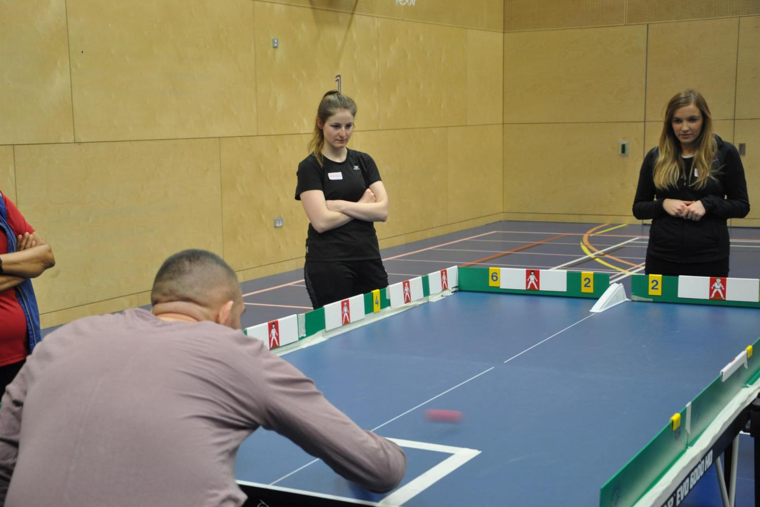 Disability Sports Coach - Adapted Sports Course delegates