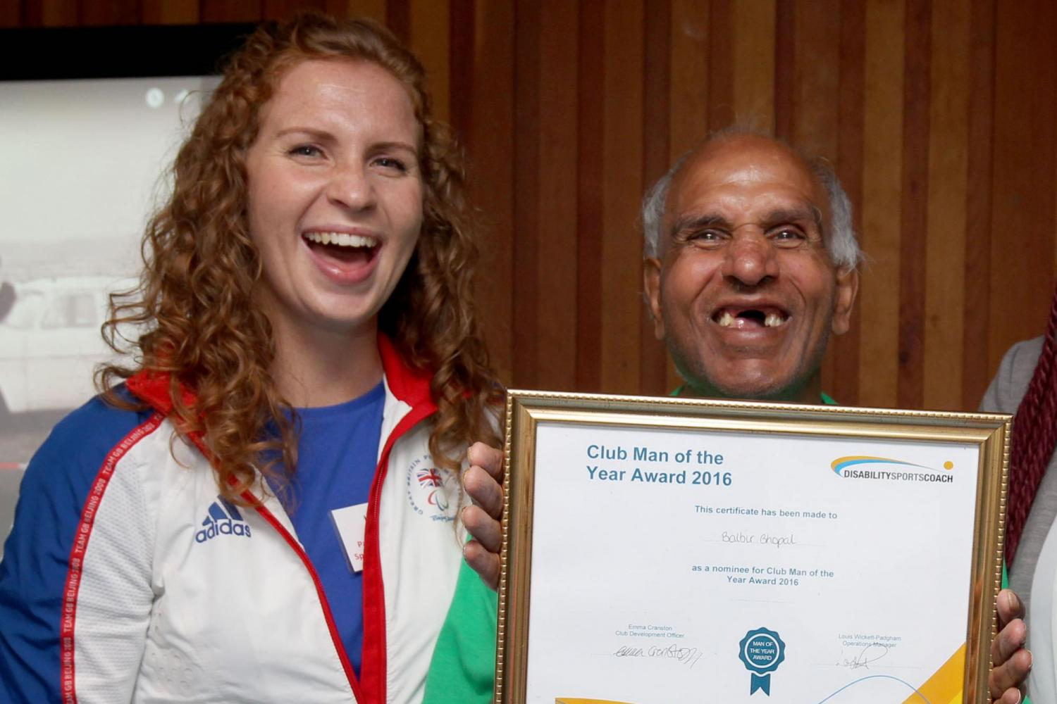 Kate Grey, former GB Paralympic Swimmer becomes Disability Sports Coach Patron