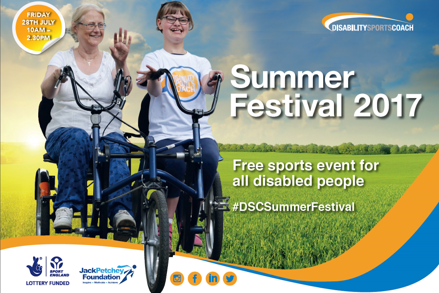 Disability Sports Coach Summer Festival 2017