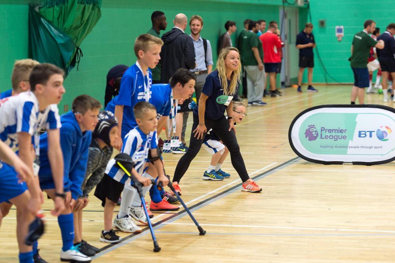 Disability Sports Coach - Premier League - Disability Festival