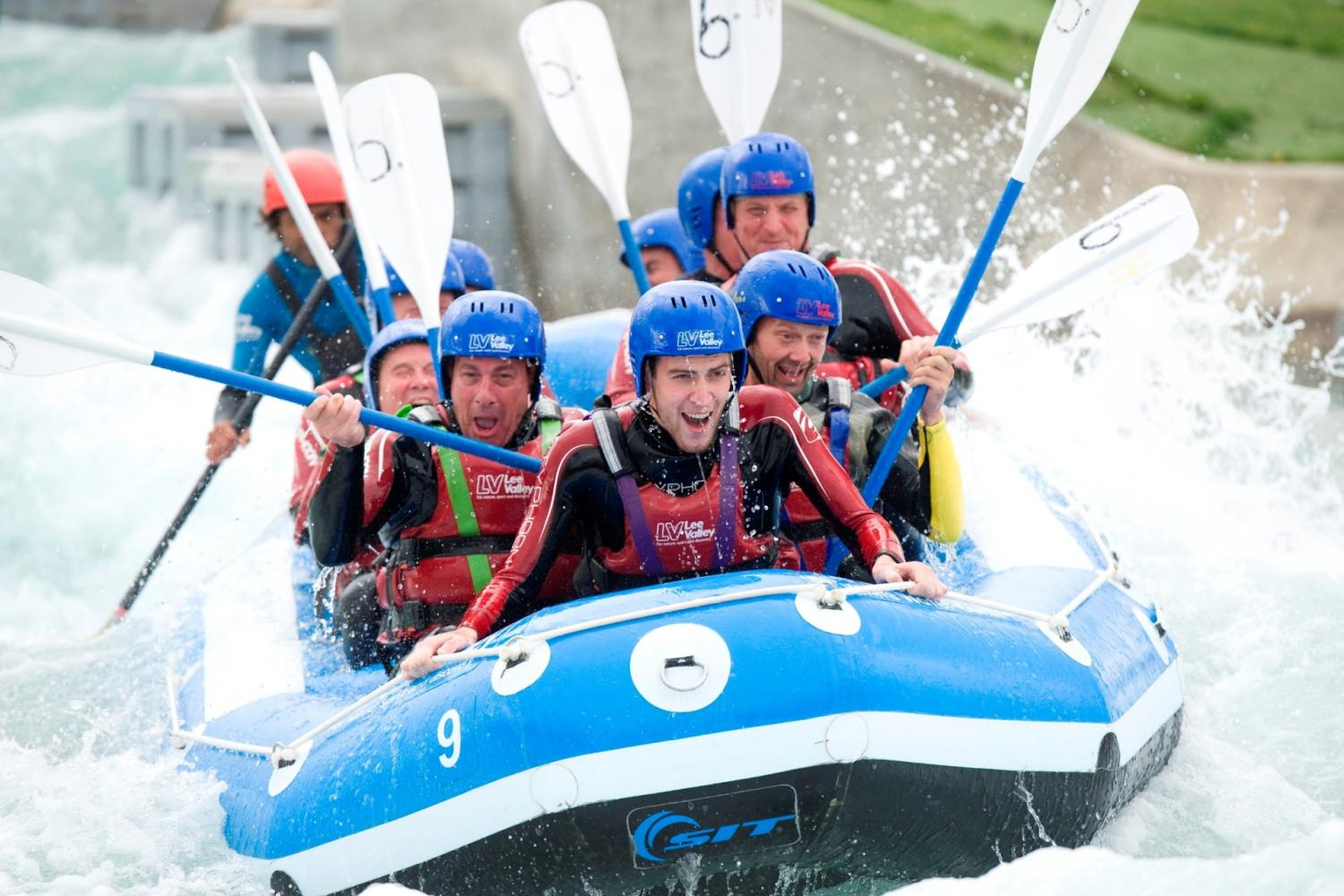 Disability Sports Coach - White Water Rafting