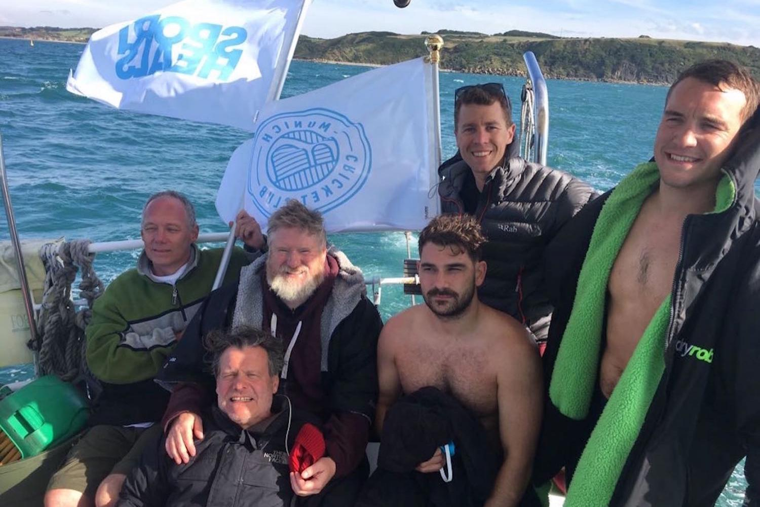 SportHeals volunteers swim English Channel to raise funds for Disability Sports Coach