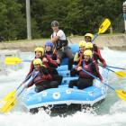 Sunday Funday - DSC members take on Lee Valley's White Water Rafting