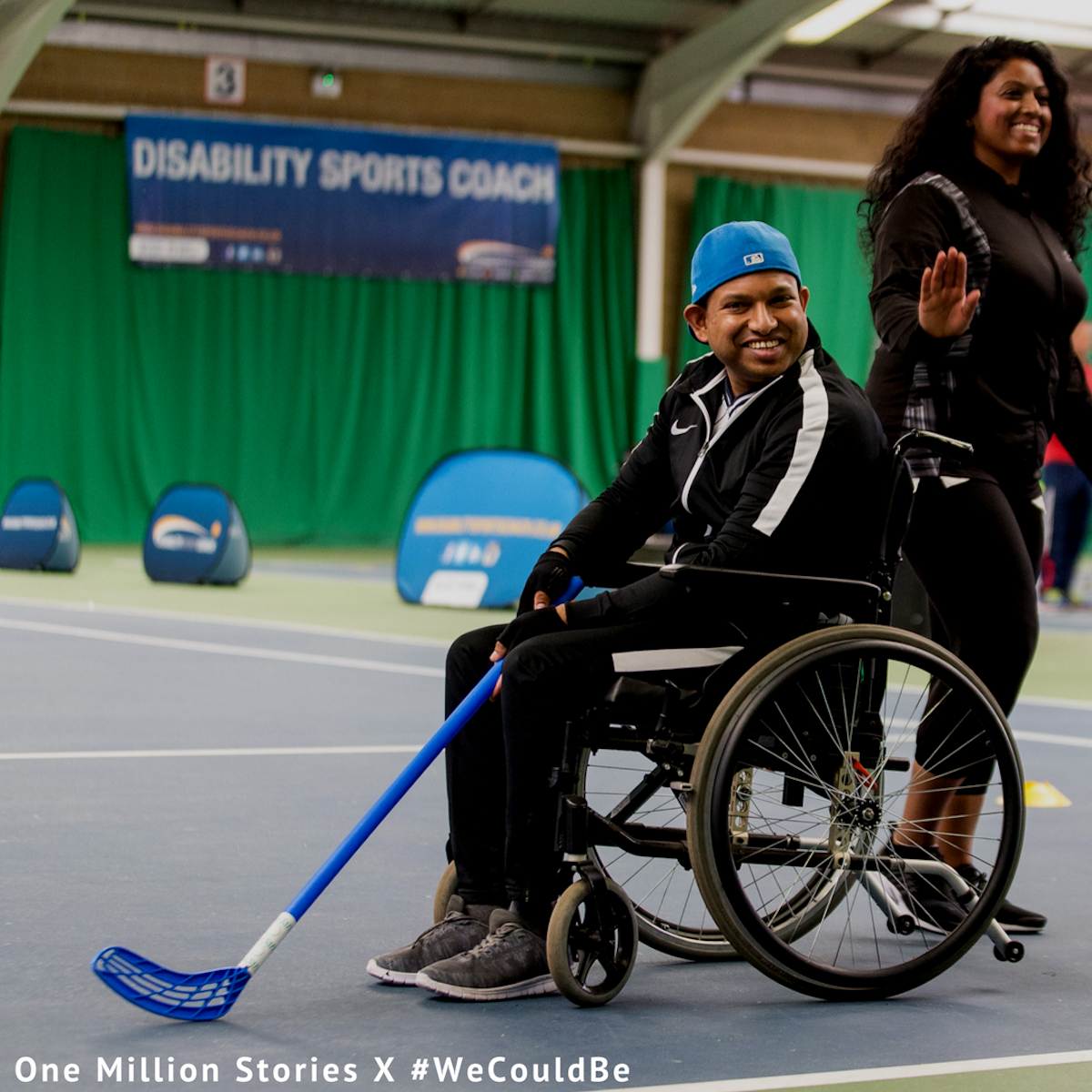 #WeCouldBe X One Million Stories - Ram Varatharajasarma Disability Sports Coach & London Sport
