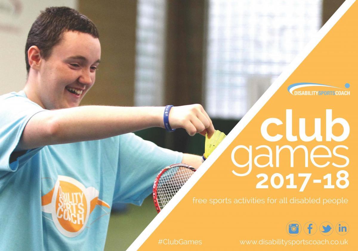 Disability Sports Coach Community Club - Winter ClubGames