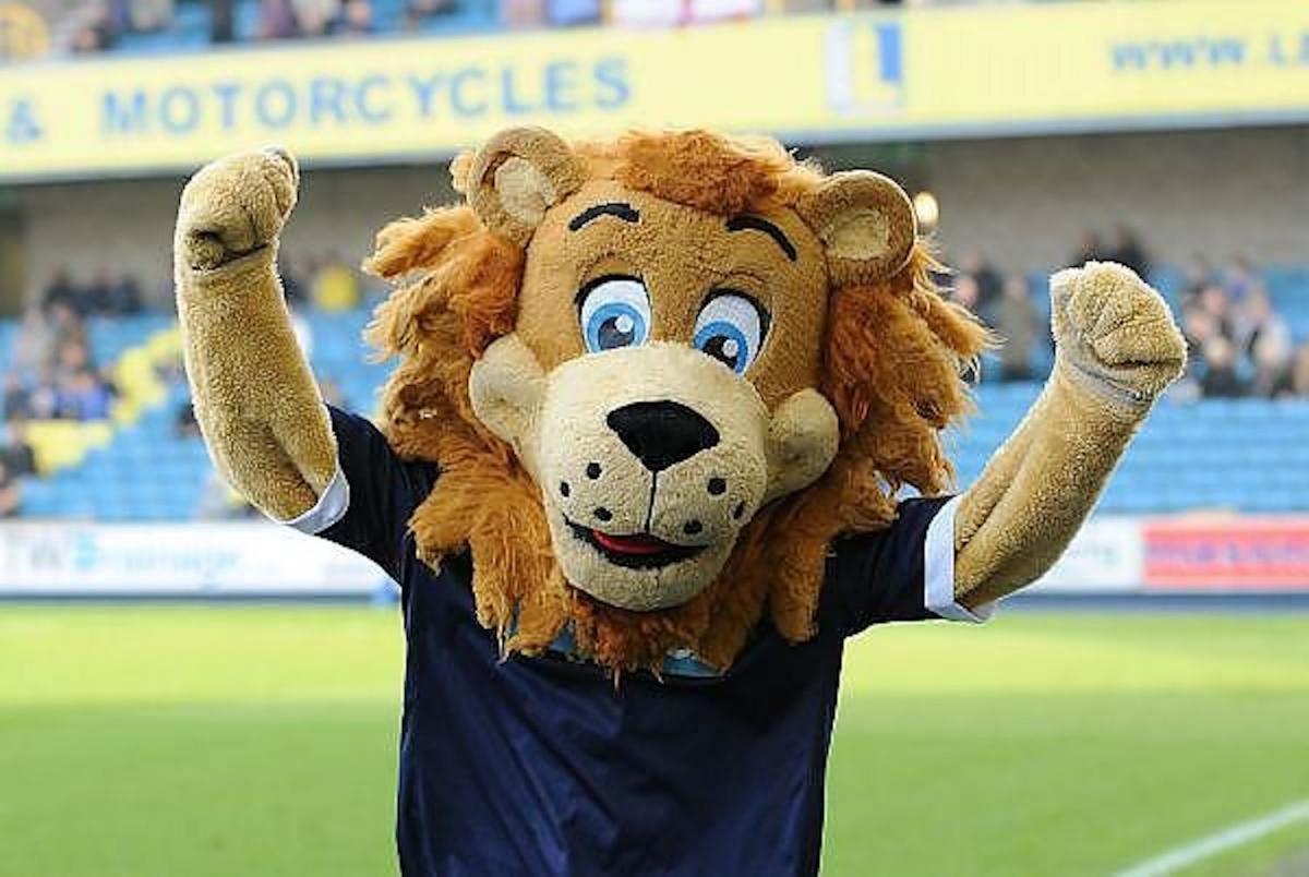 Disability Sports Coach Community Club - Winter ClubGames - Zampa The Lion Millwall Football Club Mascot