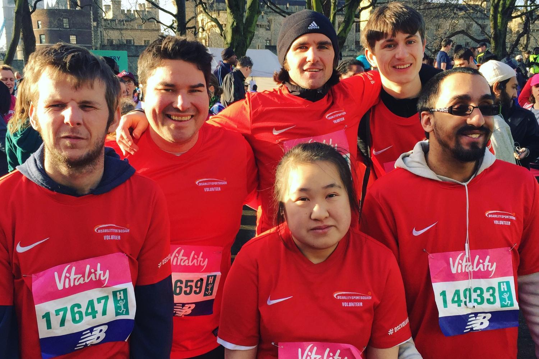 #TeamDSC at the London Marathon Event's The Big Half
