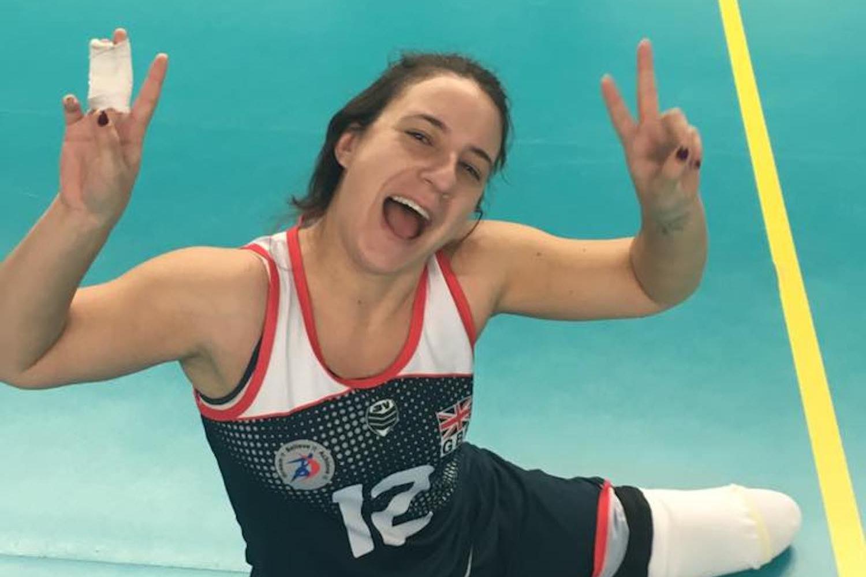 Spring ClubGames 2018 - GB Paralympian Kat Hawkins