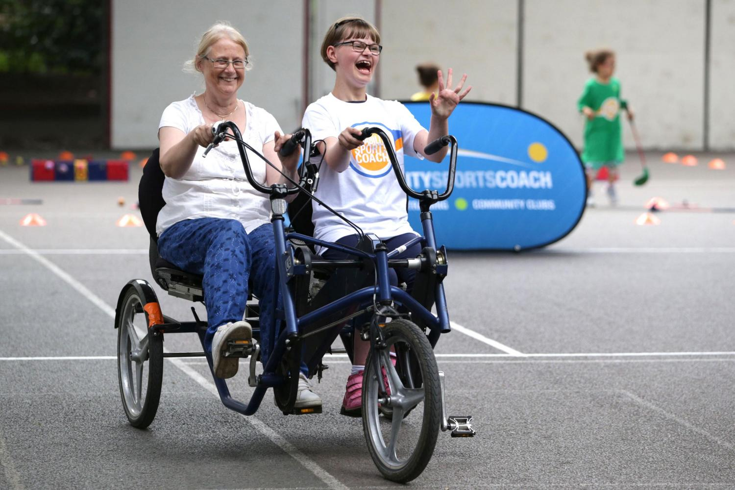Disability Sports Coach Corporate Support