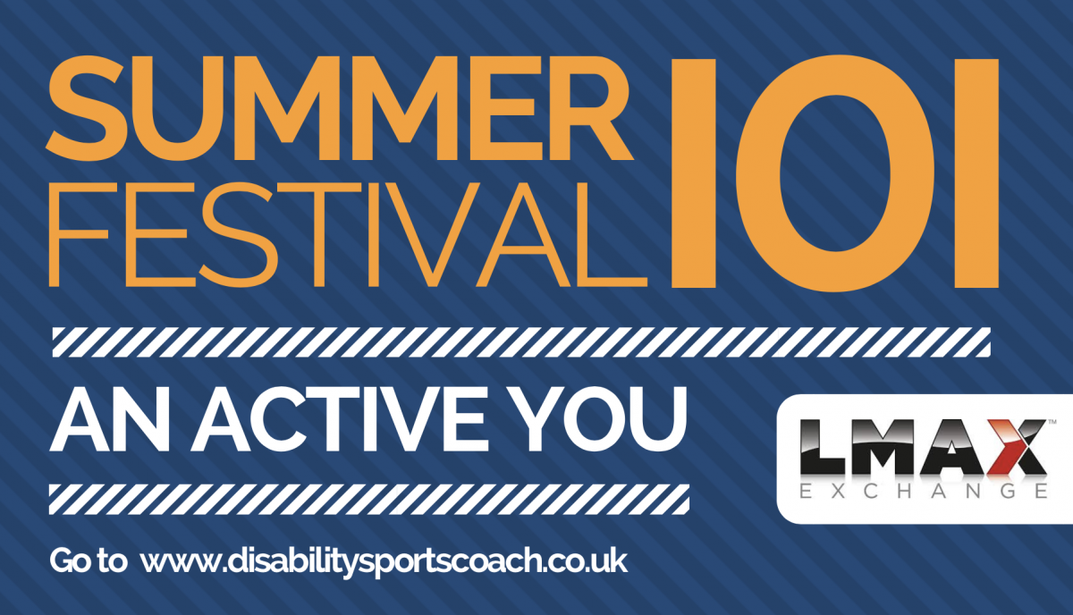 DSC Summer Festival 101 Series - guide to disability sports coach summer festival - the sports