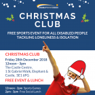Christmas Club - free activities & social lunch