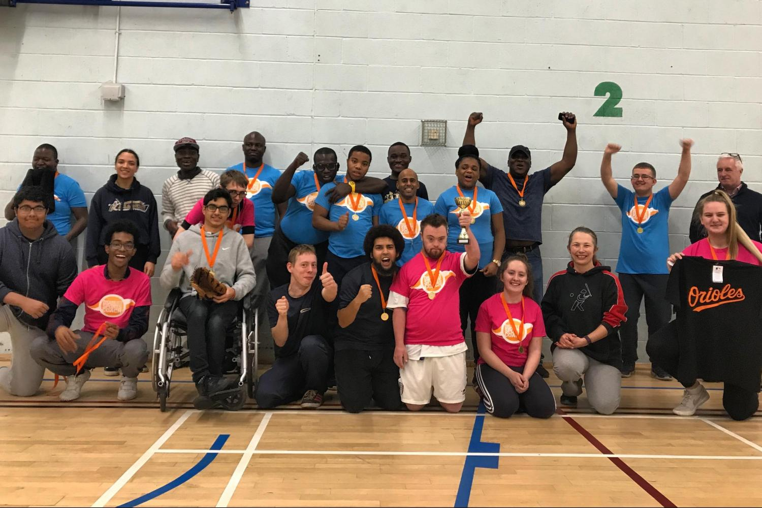 ClubDerby Series - Disability Sports Coach & Baseball Softball UK