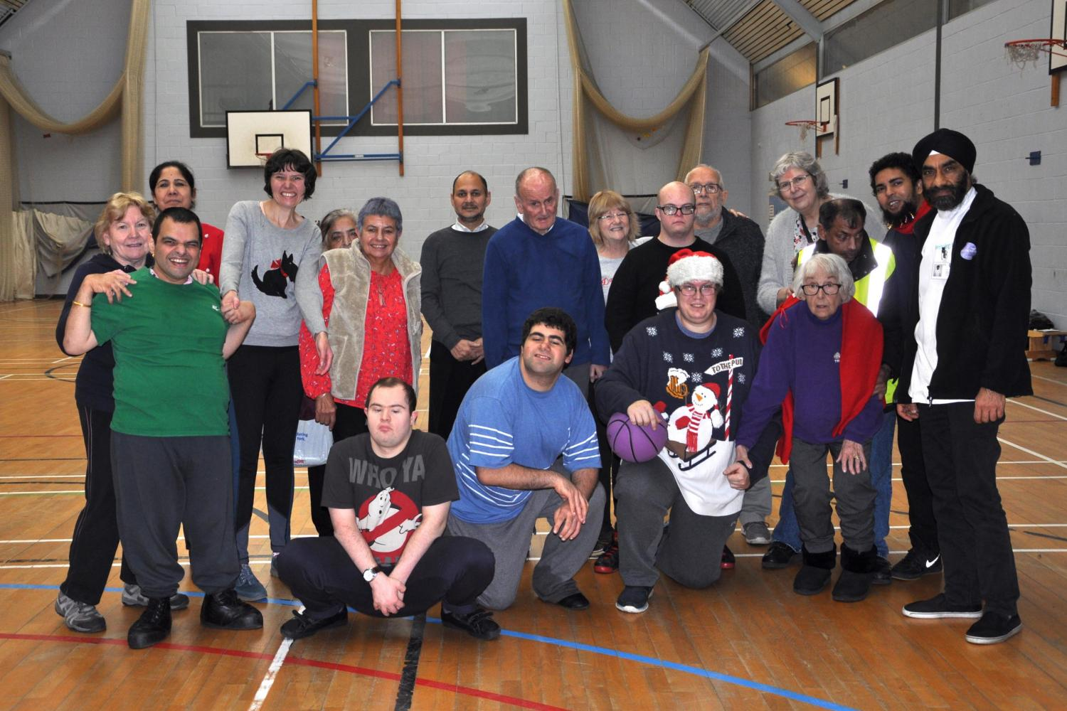 Community Club Hounslow - multi sports sessions for all disabled people - Hounslow Community School