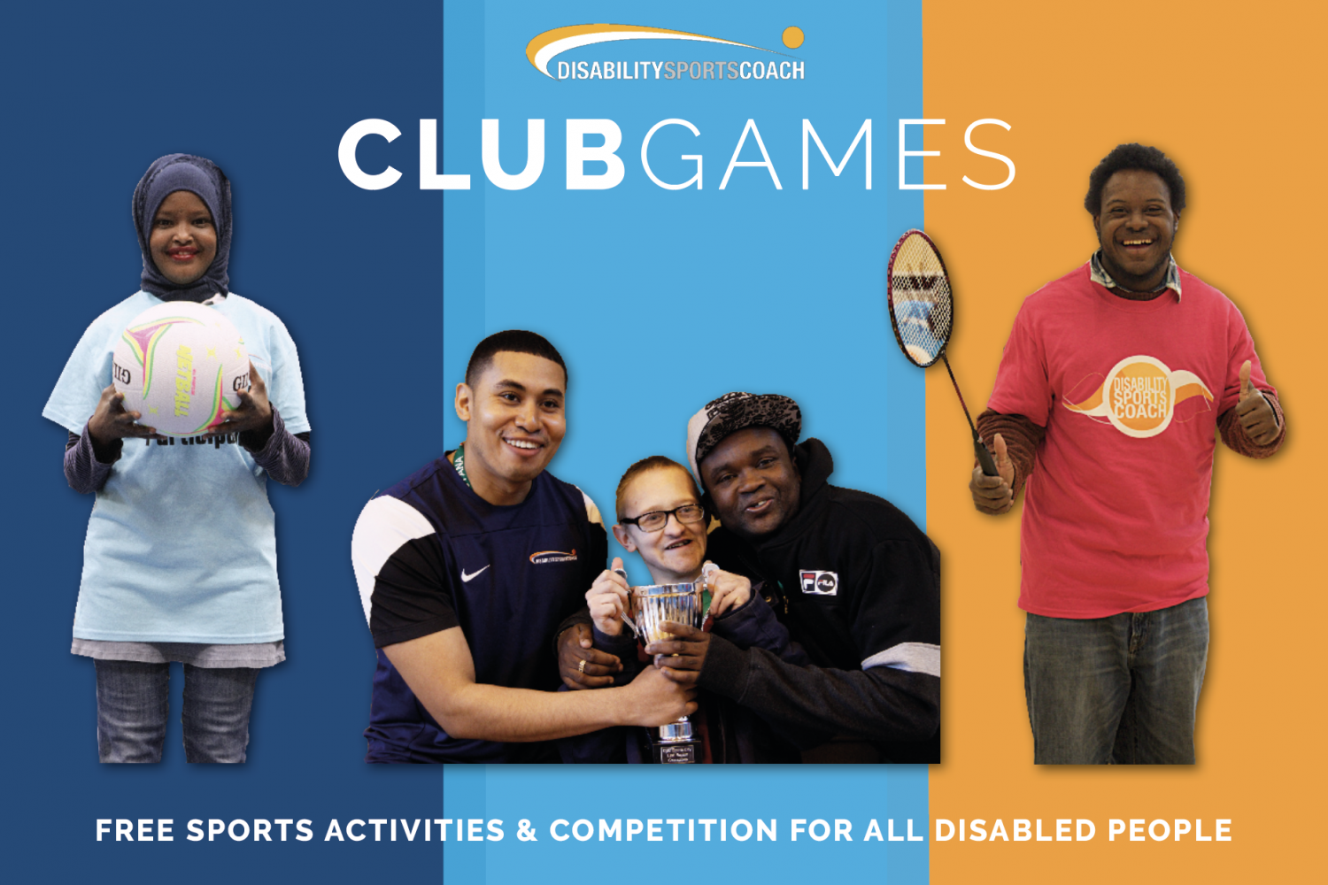 Disability Sports Coach - ClubGames - SouthGames 2019