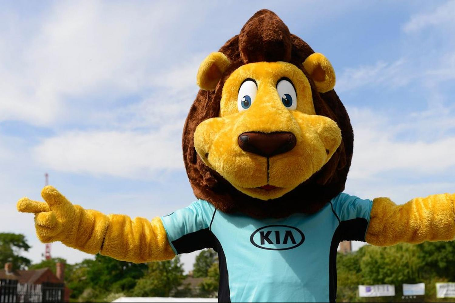 Disability Sports Coach - ClubGames - SouthGames 2019 - Surrey Cricket Mascot The Lion