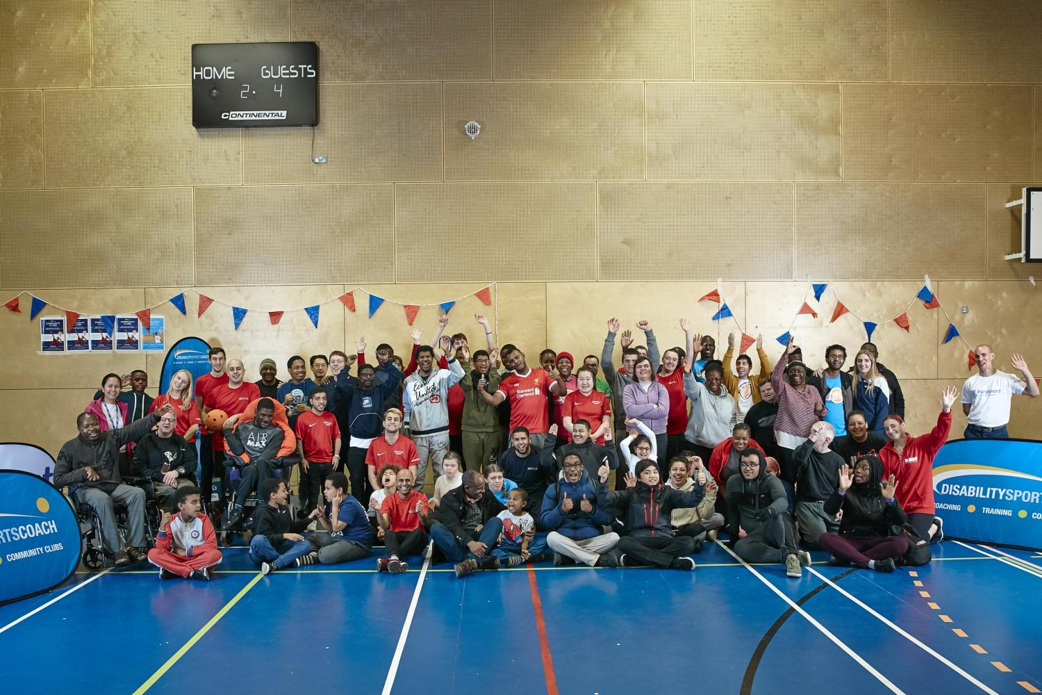 Disability Sports Coach Community Clubs - ClubGames SouthGames 2019