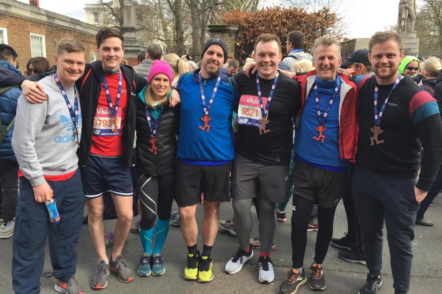 Team DSC - Vitality Big Half 2019 Runners - Disability Sports Coach