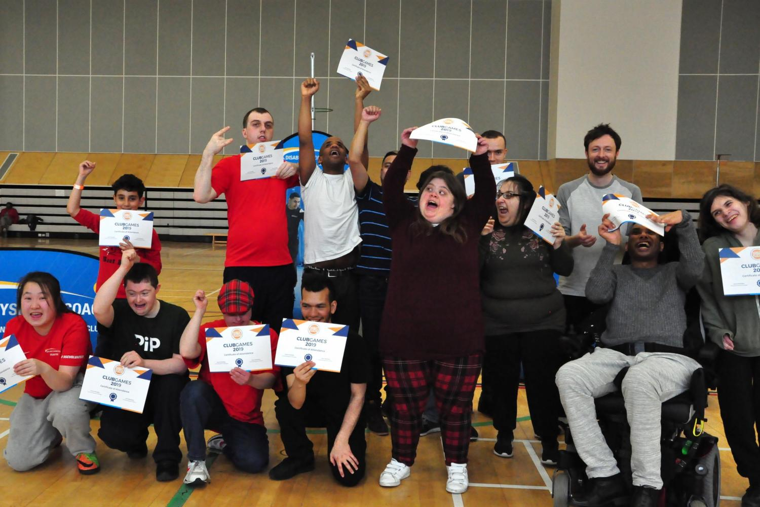 Disability Sports Coach West ClubGames 2019