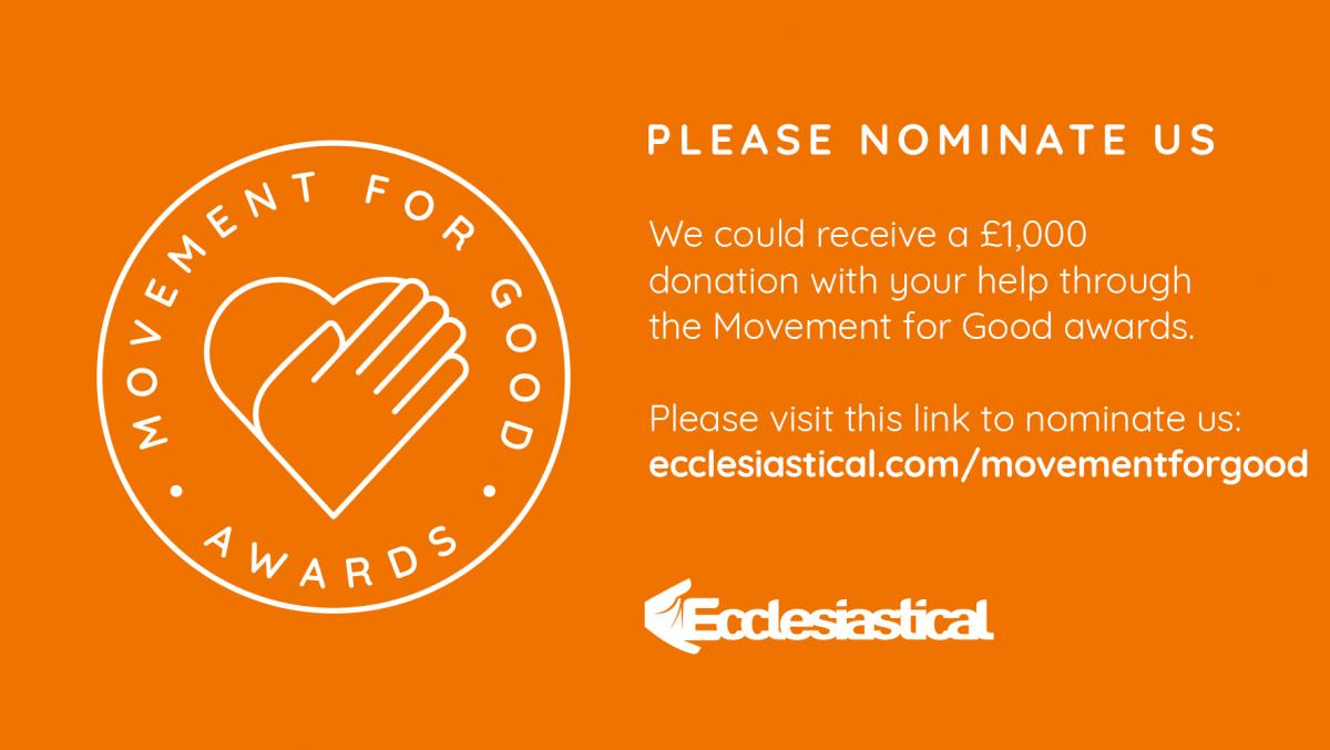 Disability Sports coach Ecclesiastical Nomination