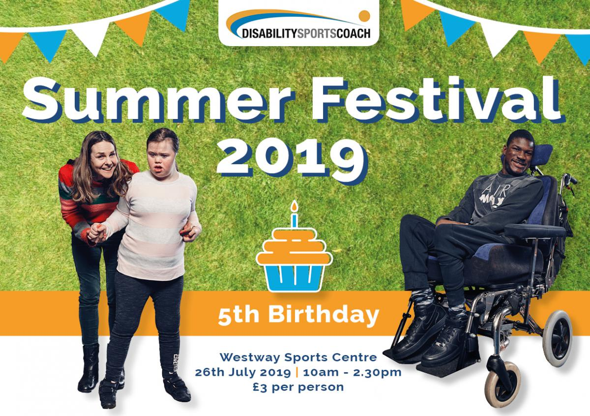 Disability Sports Coach Summer Festival 2019 - Sports Event for all disabled people