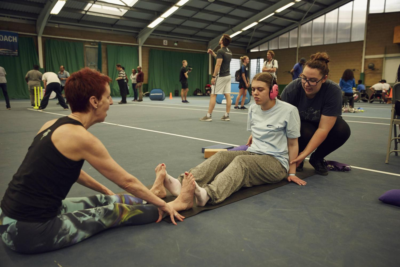 Disability Sports Coach Summer Festival 2019 - #DSCSummerFestival - Yoga - Westway Sports Centre
