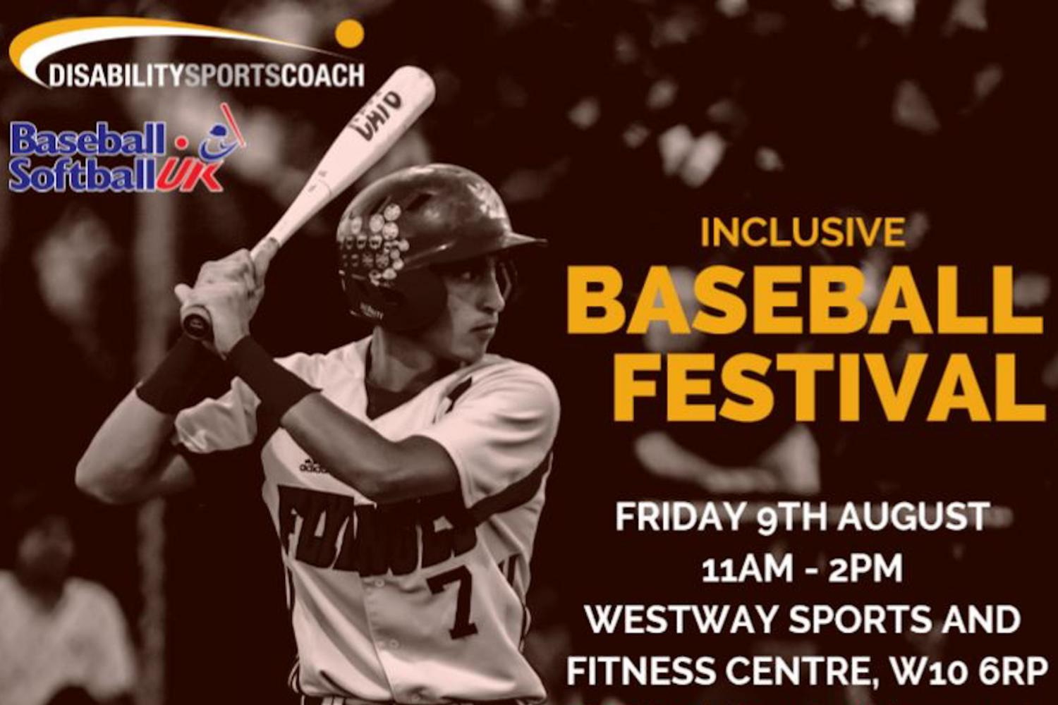 Disability Sports Coach Baseball Softball UK - Inclusive Baseball Festival 2019