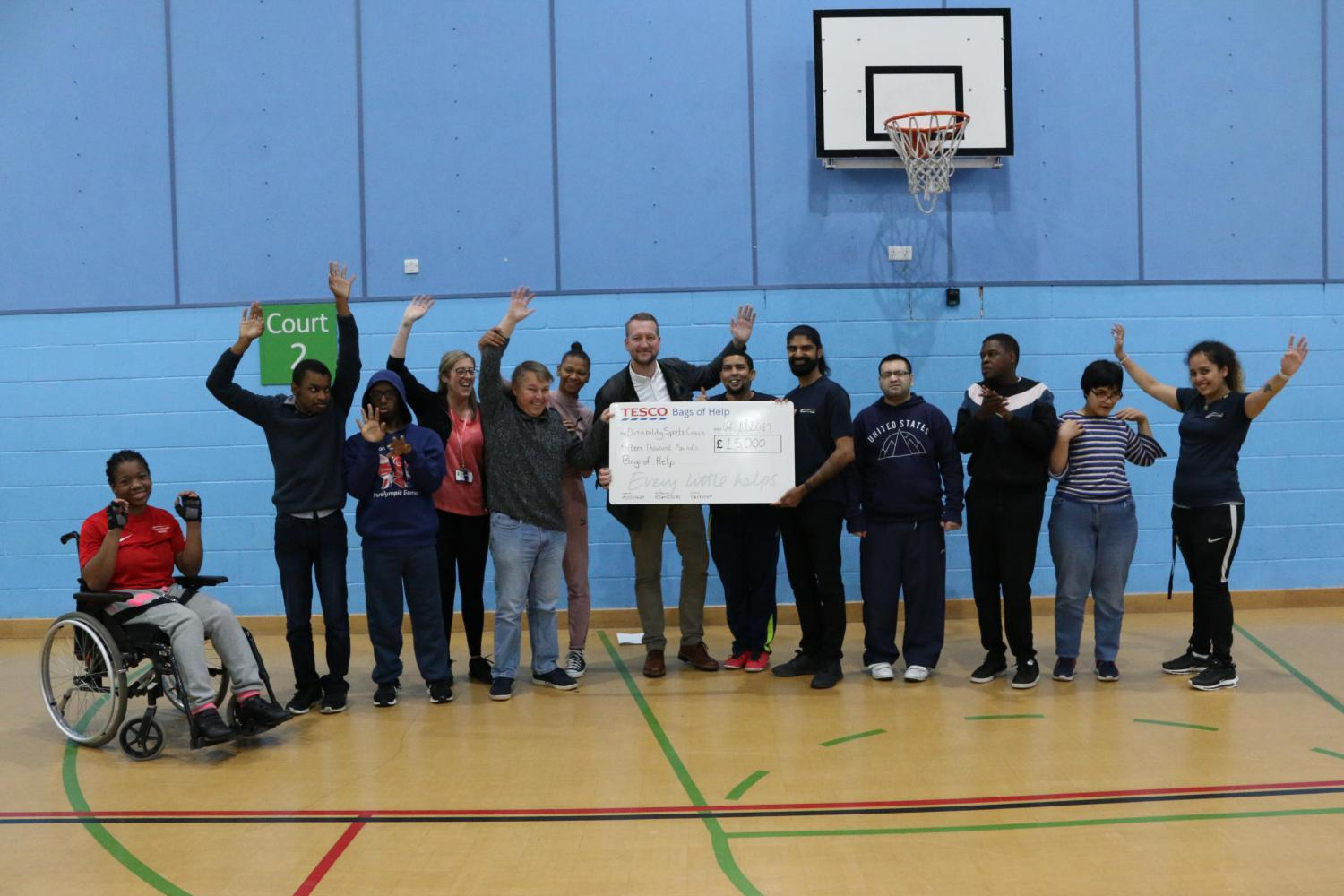 Tesco Bags of Help Store Vote - Disability Sports Coach - Centenary