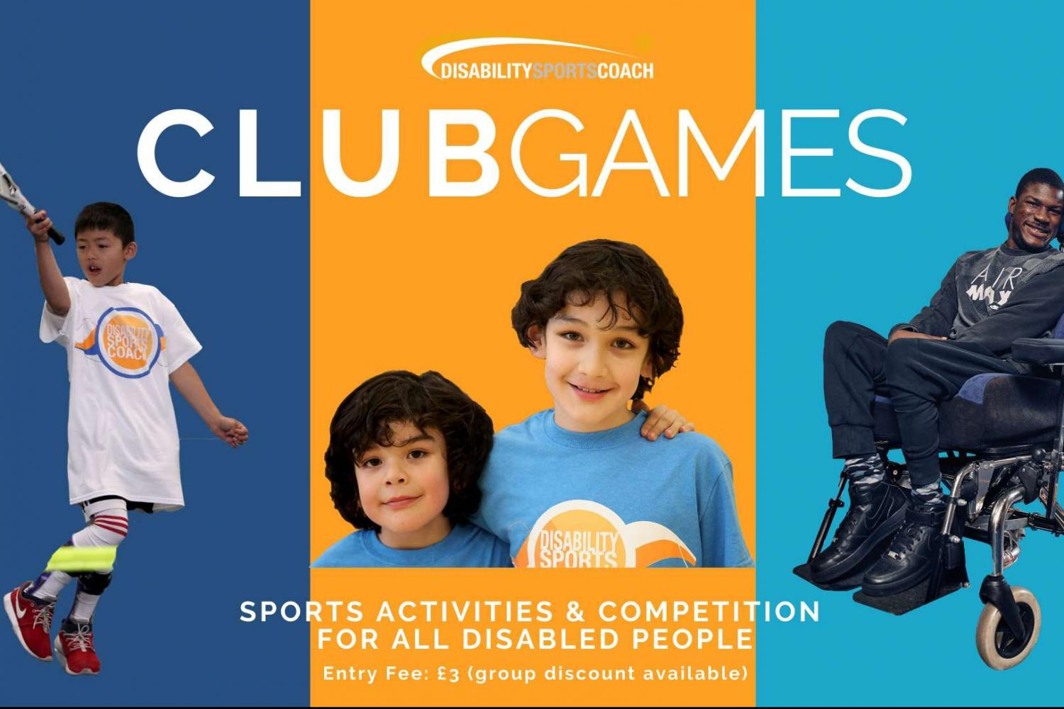 Disability Sports Coach South ClubGames