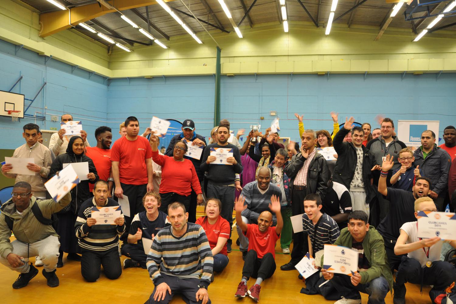 Disability Sports Coach East ClubGames