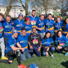 Pcubed run the Vitality Big Half 2020