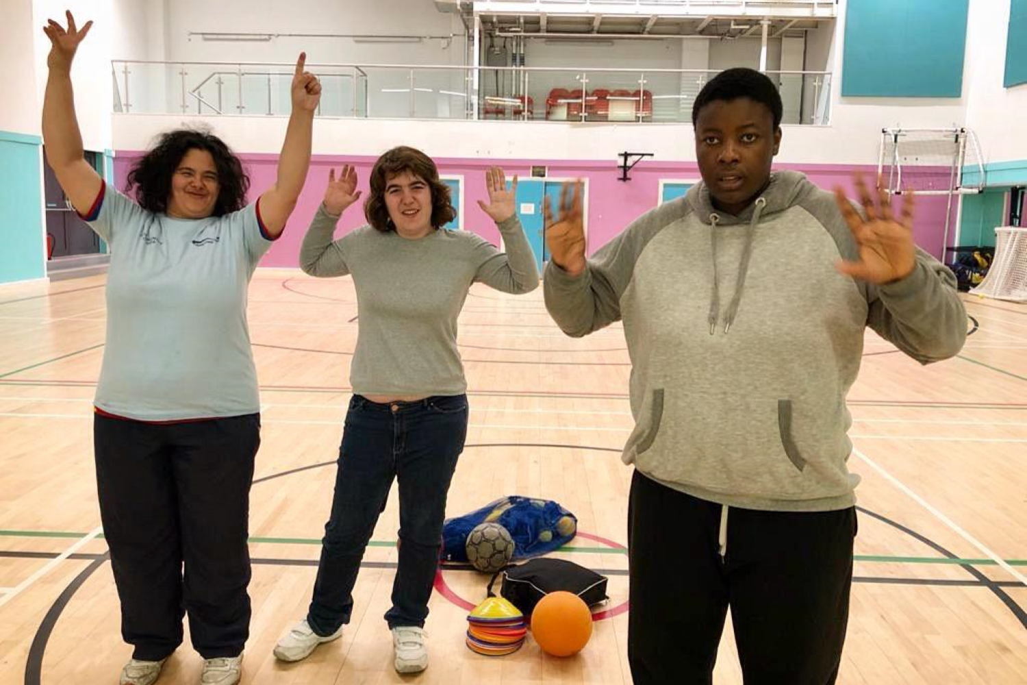 Disability Sports Coach members