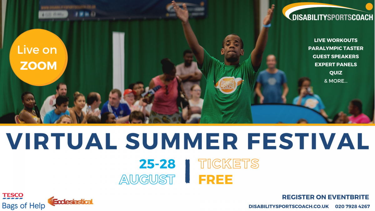 Disability Sports Coach Virtual Summer Festival