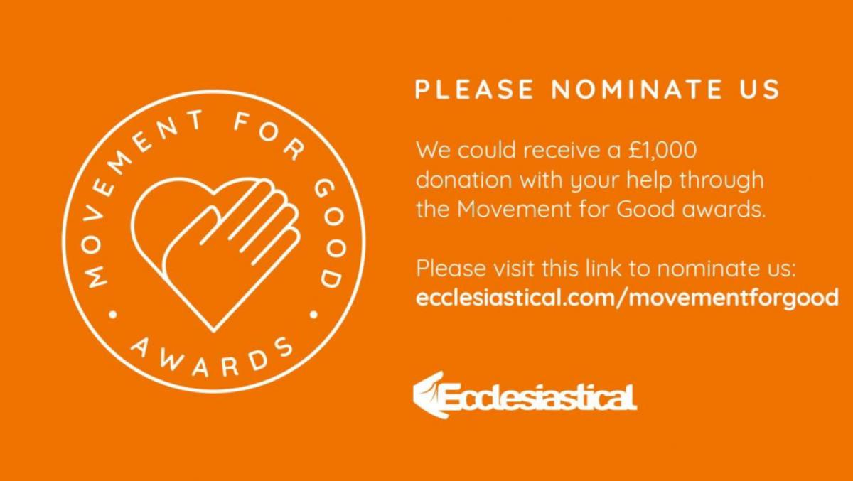 Ecclesiastical Movement for Good Awards