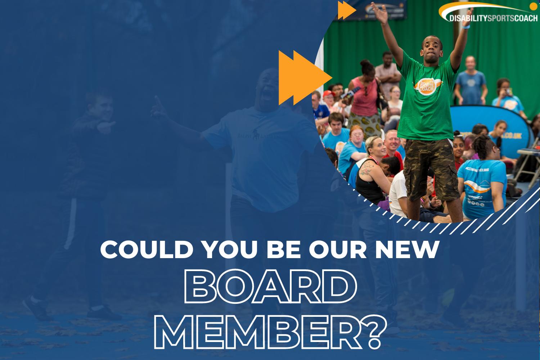 New board member vacancy