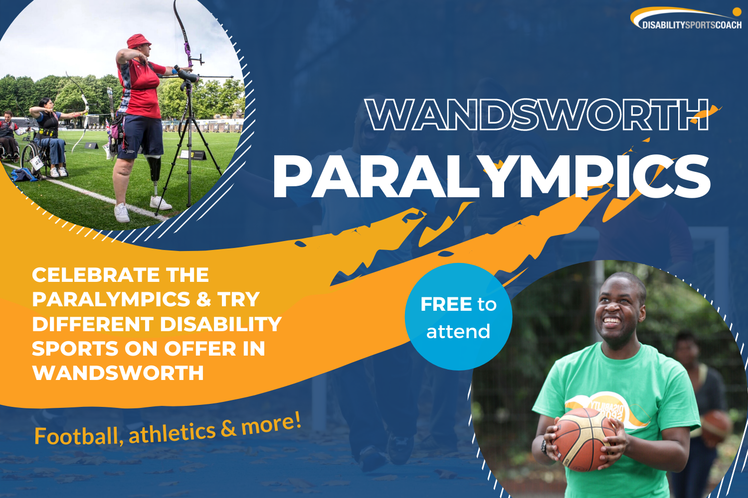 Wandsworth Paralympics sessions poster