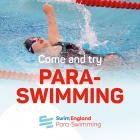Just Keep Swimming... Para-swimming Opportunity with Swim England